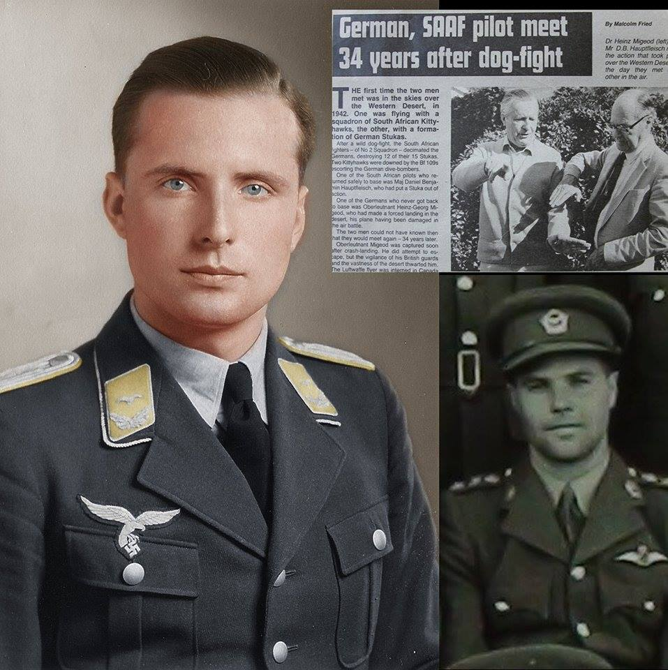 A German Of French Descent Shot Down By A South African Of