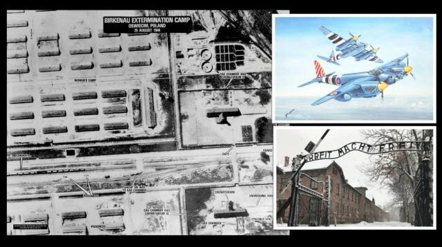 The South African Air Force discovered Auschwitz extermination camp
