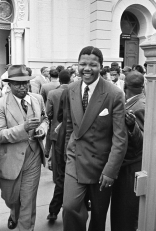 Nelson Mandela, treason trial, Pretoria, 1958