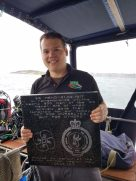 South-African-Legion-Mendi-plaque-moments-before-the-dive