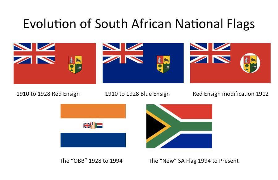 South african national flag history