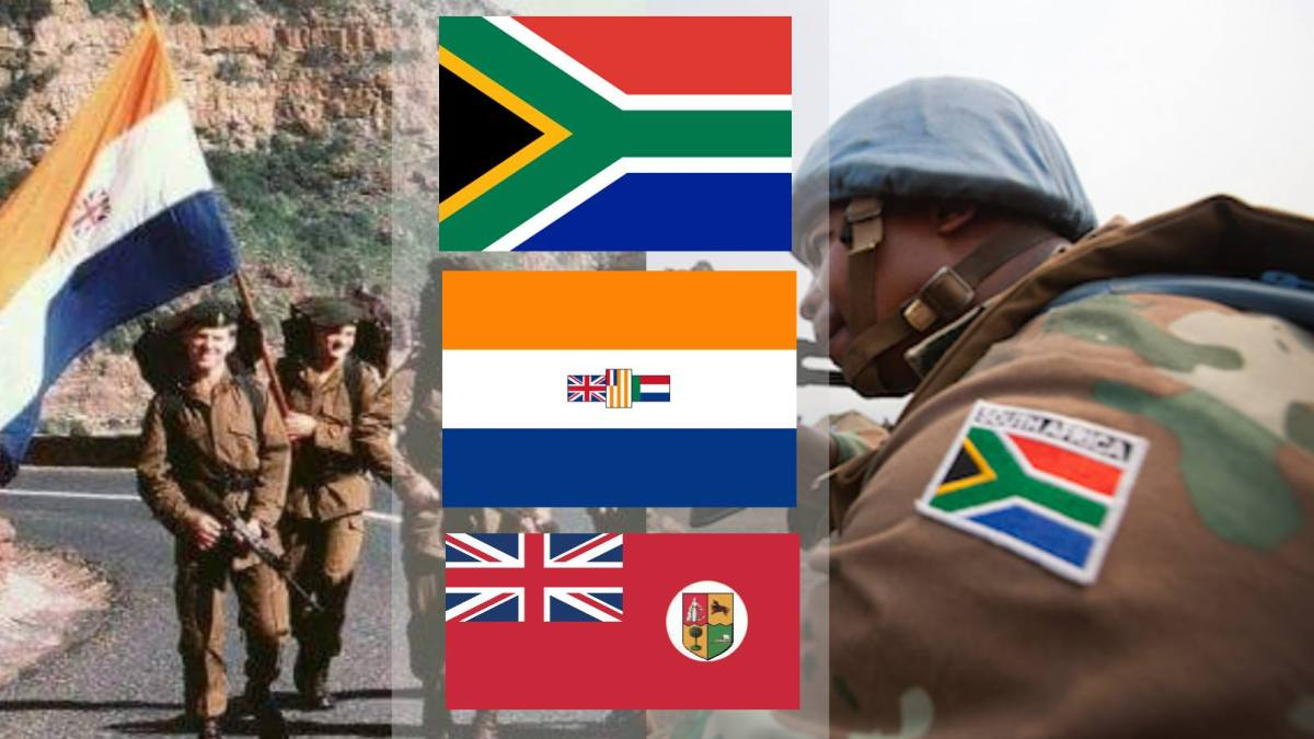 The inconvenient and unknown history of South Africa's national flags