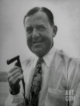 Bobby Locke with his Famous Putter