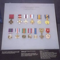 VCPercyHowardHansenMedals