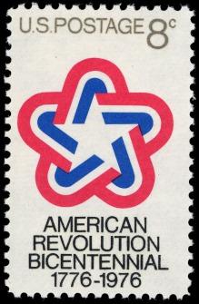 American_Revolution_Bicentennial_8c_1971_issue_U.S._stamp
