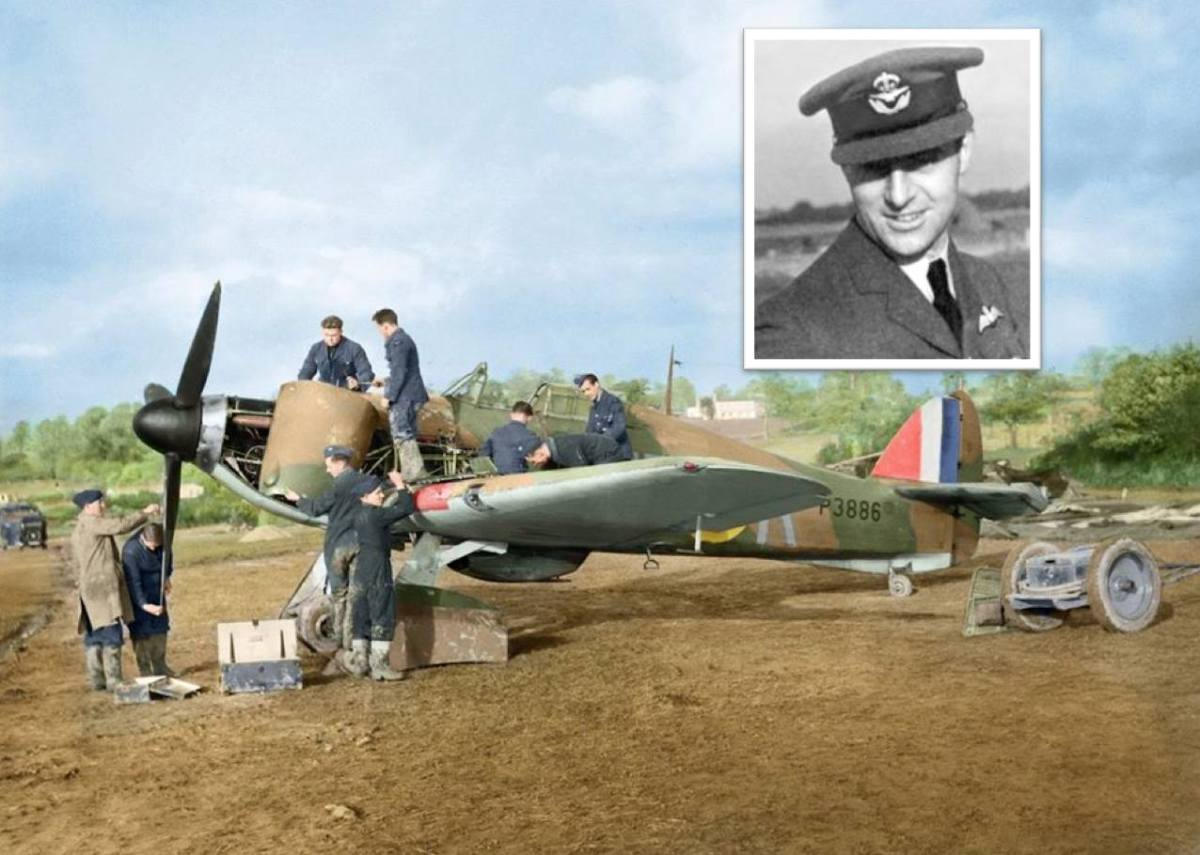 A USA claimed South African born 'Battle of Britain' Fighter Ace