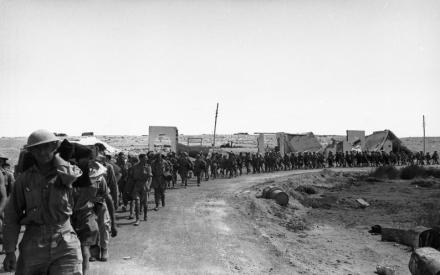 Tobruk, englische Kriegsgefangene
