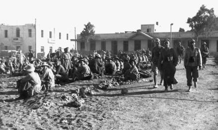 Tobruk, Rommel, Bayerlein, englische Kriegsgefangene
