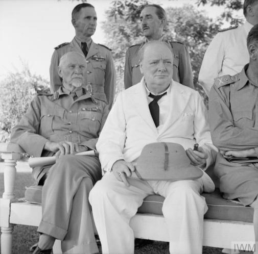 Smuts and Churchill