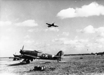 Typhoons of 137 squadron.
