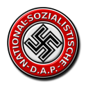 NSDAP - Nazi Swastika - badge - emblem - Occult History Third Reich - Peter Crawford